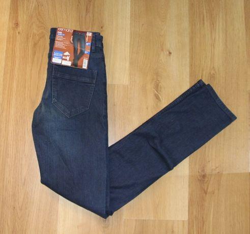 spodnie jeansowe 34 xs levis lee niebieskie jeans 36 s rurki