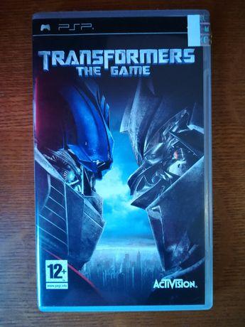 Jogo PSP - Transformers The Game