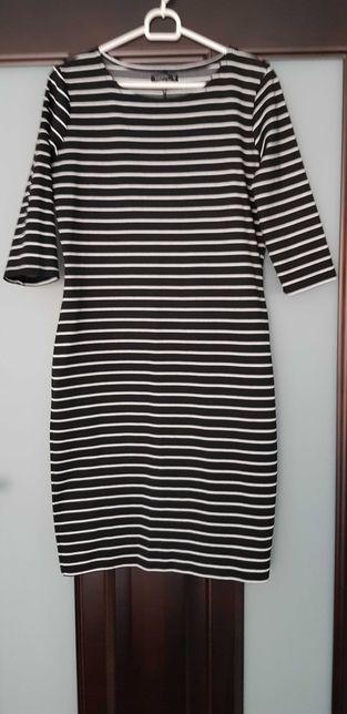 Sukienka Reserved rozmiar M w paski