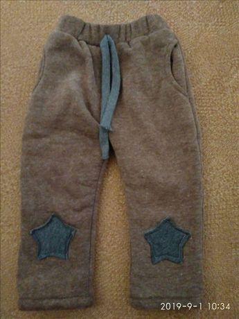 Детские теплые штанишки для ребенка