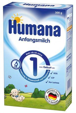 Молочная сухая смесь Humana 1 с рождения, 300 г