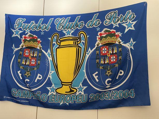Bandeira FC Porto Champions League 2003/2004