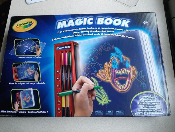 Zestaw do rysowania Magic Book Crayola