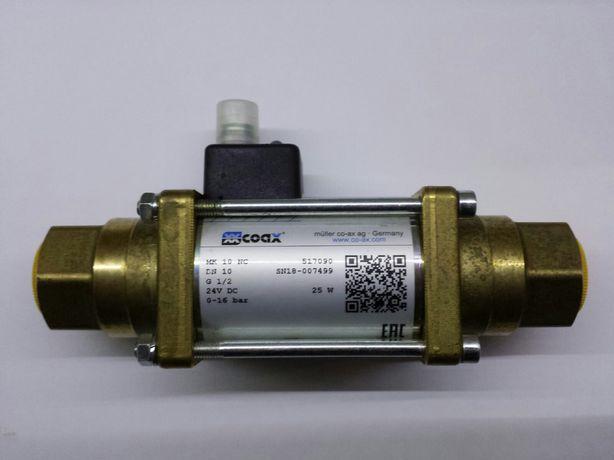 Zawór Coax Mk10NC elektromagnetyczny.