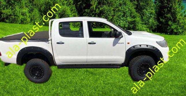 Poszerzenia nadkoli 7,5 cm - Toyota Hilux VII AN10, AN20,