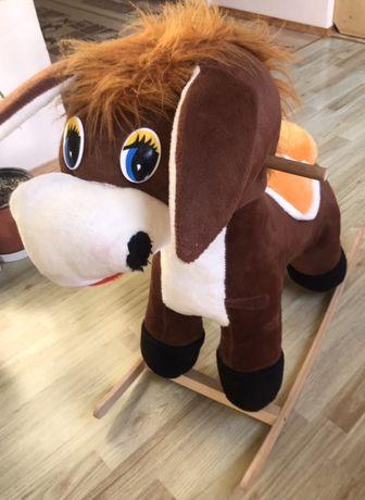 Коник лошадка качалка