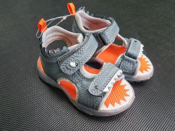 Carters светящиеся ортопедические детские босоножки сандалии картерс
