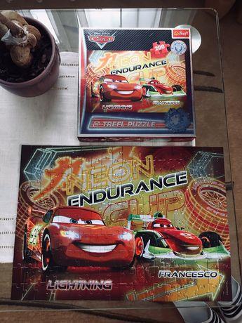 Nowe Puzzle - Edycja limitowana - Auta Cars TREFL (kolekcja, zestaw)