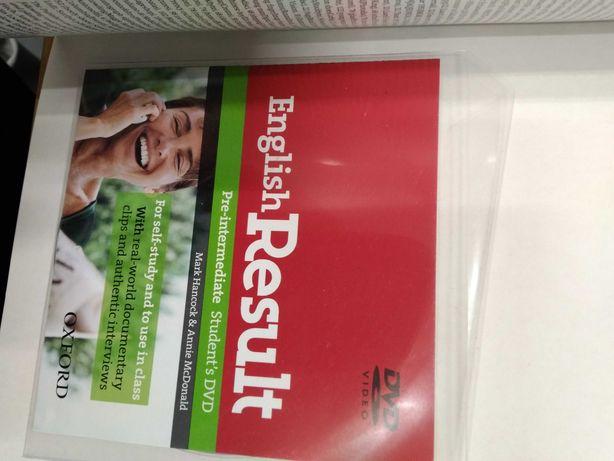 Podręcznik z DVD English Result Pre-intermediate nowy!