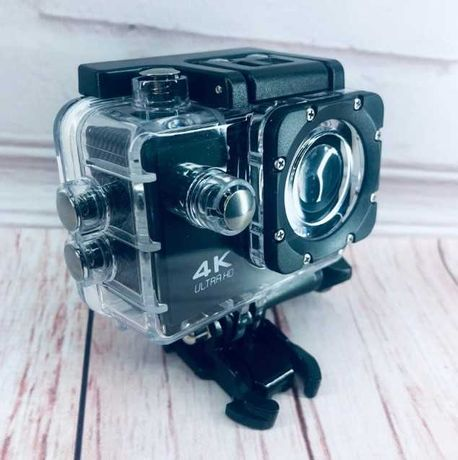 Хит 2020года! Action Camera Крутая экшн-камера. Водонепроницаемый бокс