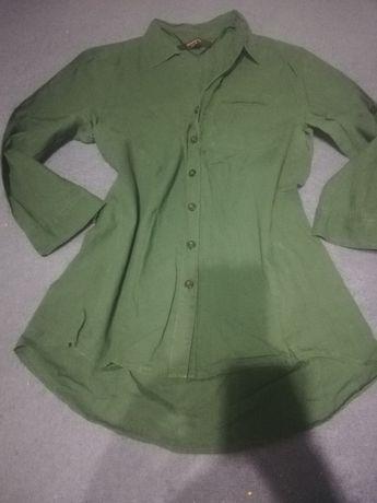 Sliczna zielona koszula reserved rozm. 36