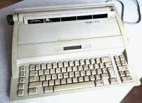 електронна пишуча машинка Оптима