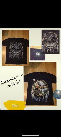 Vintage t-shirt WiLD Wolf/Indians