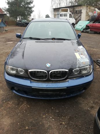Front swap bmw e46 compact - coupe, przód z coupe lift komplet