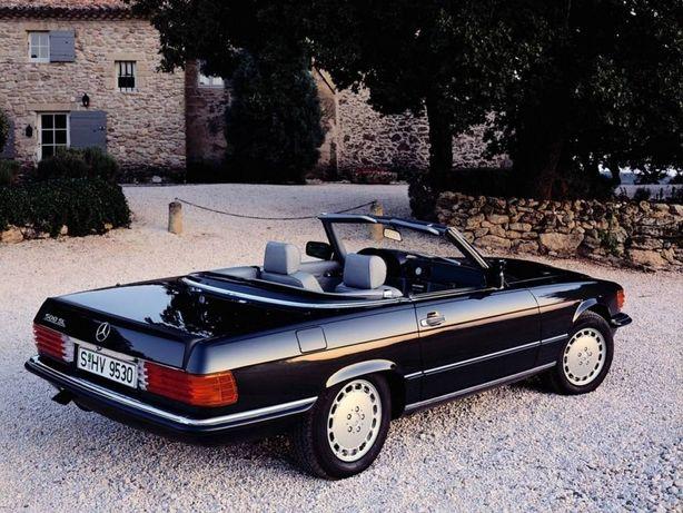 Jantes Mercedes-Benz SL R107 - SEC W126 Gullideckel 7J×15 ET25