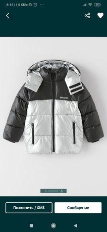 Куртка зара деми/зима