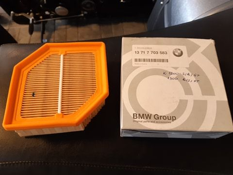 BMW K1200 GT, S, R, K1300 GT Filtr powietrza nowy oryginalny