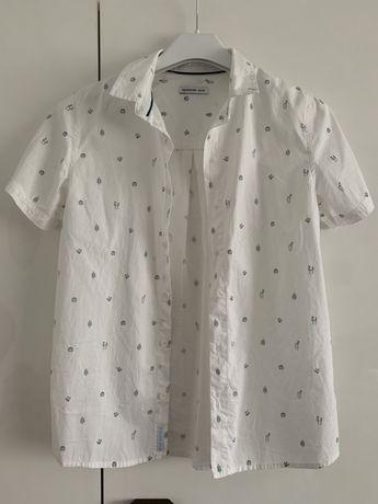 Koszula chłopięca z krótkim rękawem