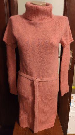 Свитер-платье ангора р.42-44