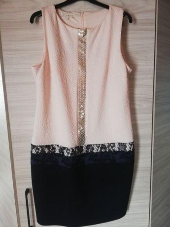 Sukienka dwukolorowa REZERWACJA