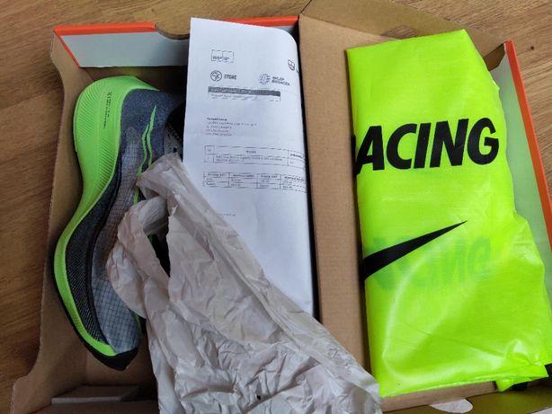 Buty Nike Zoomx Vaporfly Next% U Szaro-Zielone 42
