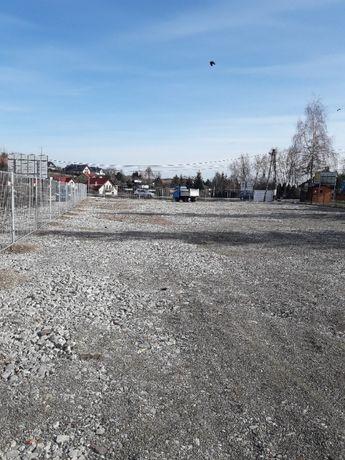 Do wynajęcia plac przy trasie E7 Bibice - Kraków