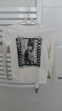 Nowa bluzka dziewczynka roz 8lat St Bernard