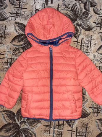 Новая!!! Весеннее осенняя курточка на мальчика оранжевого цвета