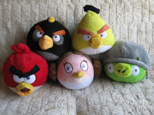 Duże Angry Birds maskotki - 5 sztuk