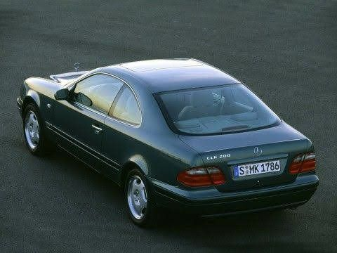 Двигун Mercedes clk w 208 2.3 kompresor авторозборка
