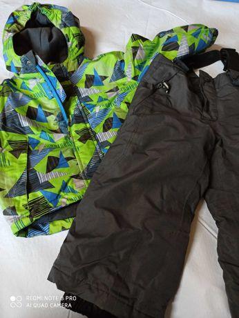 Kurtka zimowa ze spodniami