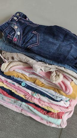 68 paka 31 szt zestaw ubrań dziewczynka jak nowe