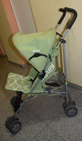 Wózek spacerówka OBABY + osłona przeciwdeszczowa