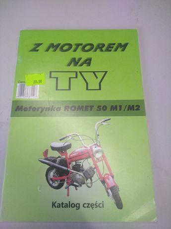 Książka katalog części motorynka Romet 50 M1 M2