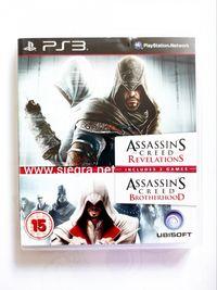 Assassin's creed revelations i creed Brotherhood Ps3