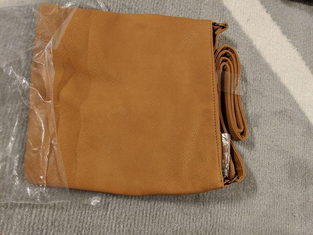 Torba torebka Avon mała brązowa pasek nowa oryginalnie zapakowana