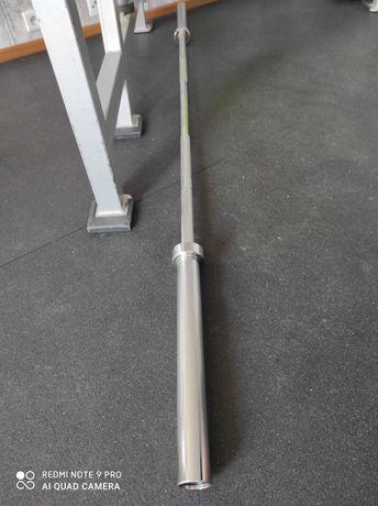 Gryf olimpijski 20kg sztanga olimpijska obciążenie hes olymp Sewim gym