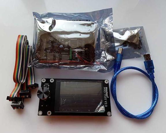 Плата для 3д-принтера MKS Robin Nano V3 с дисплеем