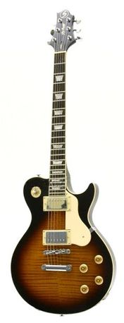 Gitara elektryczna SAMICK AV3 VS podpalana