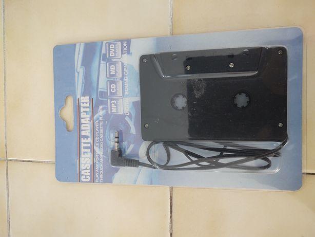 Cassette adapter audio