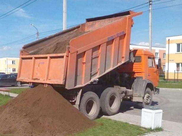Чернозем песок отсев щебень жерства бут земля торф навоз перегной