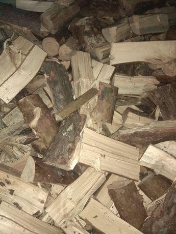 Drewno opałowe sosna sucha , drzewo rąbane - dowóz