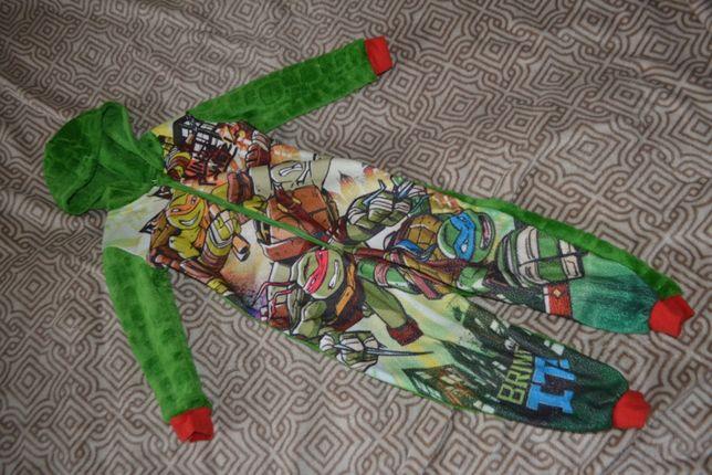 флисовая пижама George 4-5 лет рост 104-110