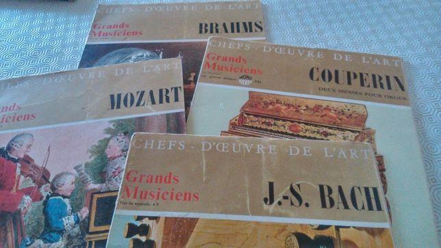 Grandes Músicos - Música Clássica Mozart Bach Couperin Brahms