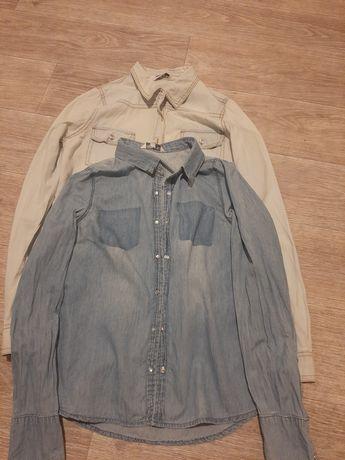 Рубашки, джинсові сорочки, 12-13 років