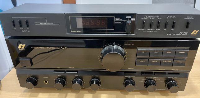 AmplificadorAU-X711 Sansui + Timmer