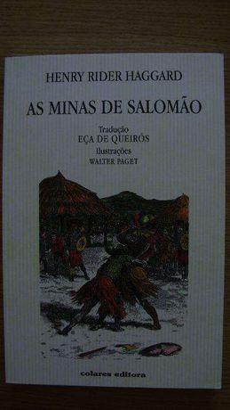 As minas de Salomão; Henry Rider Haggard