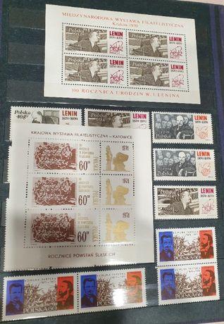 ciekawe znaczki pocztowe i bloczki z albumami