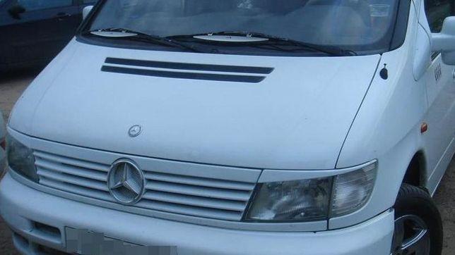 Планка плюс реснички на Mercedes Vito W638