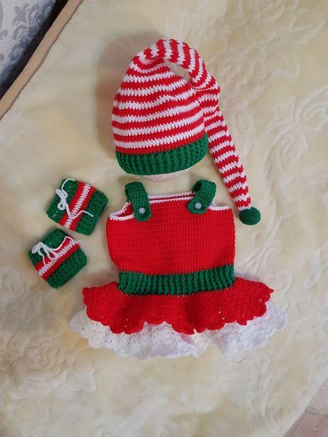 Komplecik świąteczny - elfa